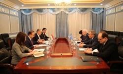 دیدار رئیس کمیته اجرایی همسود با وزیر امور خارجه تاجیکستان