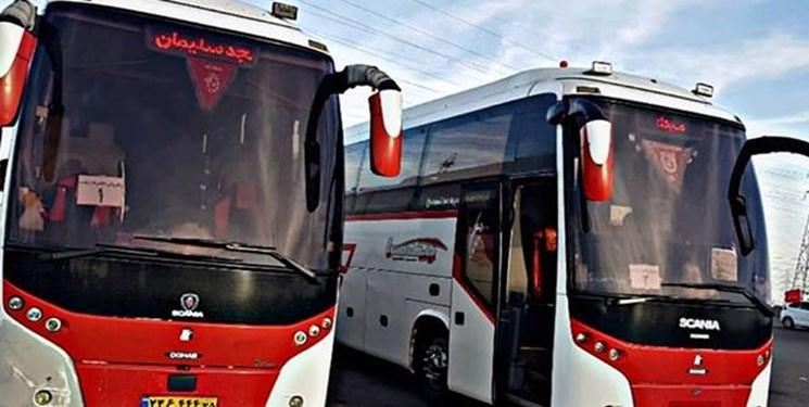 اتوبوسهای بین شهری در درون شهرها به کار گرفته می شوند/ سرویس ادارات دوباره برقرار می شود