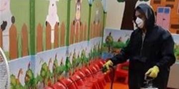 مراکز سازمان فرهنگی ـ هنری برای پیشگیری از شیوع کرونا ضدعفونی شد