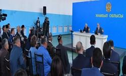 بازدید «تاکایف» از مناطق درگیری قومی اخیر در قزاقستان + تصاویر