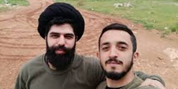 پیکر شهید زنجانی در «روضه الحورا الزینب» بیروت به خاک سپرده شد+عکس