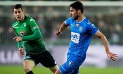 لیگ فوتبال بلژیک| خنت با پاس گل محمدی از شکست گریخت