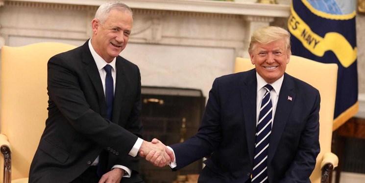 عضو لیکود: گانتز از طرح ترامپ و تشکیل دولت فلسطینی حمایت میکند