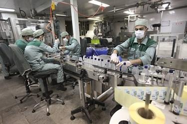 تولید ژل ضدعفونی کننده دست در اصفهان