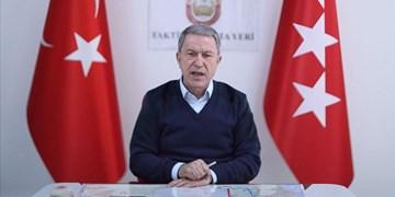 وزیر دفاع ترکیه: در کنار نیروهای مسلح آذربایجان خواهیم بود