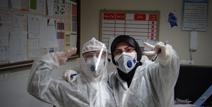بخش قرنطینه کروناییها در بیمارستان «عشایر»