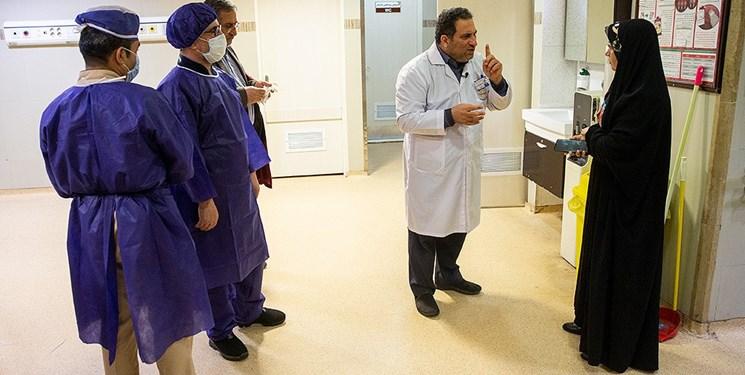 قدم به قدم با یک بیمار مبتلا به کرونا
