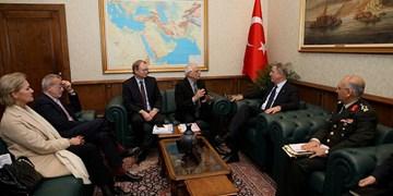 دیدار مسئول سیاست خارجی اتحادیه اروپا با مقامات ترکیه درخصوص ادلب