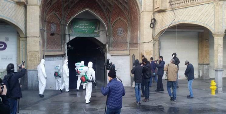 مراکز تجاری و بازارهای  استان مرکزی تعطیل شد