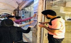 فیلم| فعالیت ضد کرونایی دانشجویان بسیجی در زنجان