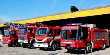 آمادهباش آتشنشانی 5 نقطه شهر زنجان
