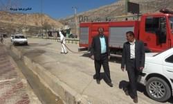 چند توصیه از شهردار دیشموک در خصوص ضد عفونی معابر/شهرداری آماده آموزش افراد است
