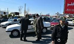 فیلم  اعمال قانون در روز ممنوعیت تردد در اراک