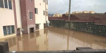 جاری شدن سیلاب در شهرضا خسارت به بار آورد+فیلم
