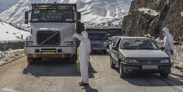 ممنوعیت تردد در ۵ شهر مازندران