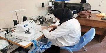 تولید روزانه 1000 ماسک در فنیوحرفهای شهرستان دیر