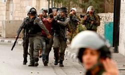 حمله نظامیان رژیم اشغالگر به کرانه باختری و بازداشت چند فلسطینی