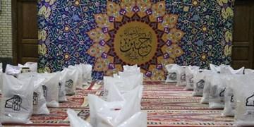 تلاش مسجدیهای ارک برای رونق دادن به سفره نیازمندان/ توزیع ۱۱۰ بسته ارزاق