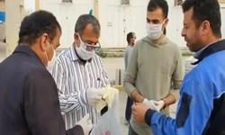 فیلم| ایستگاه صلواتی توزیع ماسک و دستکش در گناوه