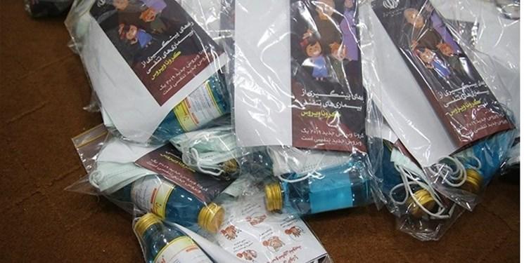 توزیع 120 هزار بسته بهداشتی در نقاط مختلف کشور