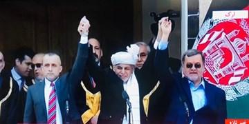 افغانستان| مراسم تحلیف «غنی» و «عبدالله» برگزار شد