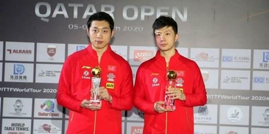 فینال مسابقات فدراسیون جهانی تنیس روی میز| مالونگ چینی قهرمان شد