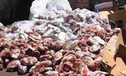 امحا  ٣٥١  کیلوگرم گوشت فاقد هویت در کازرون