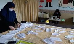 هنرستانها پای کار مقابله با کرونا/ تولید روزانه ۱۸۰۰ عدد ماسک و اقلام بهداشتی