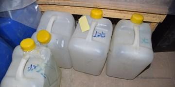 کشف و ضبط کارگاه تولیدی با بیش از 6000 لیتر مشروبات الکلی در اصفهان