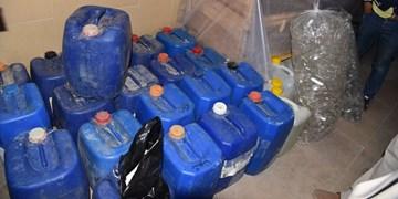 کشف «الکل صنعتی» از انبار لوازم خانگی در تهران