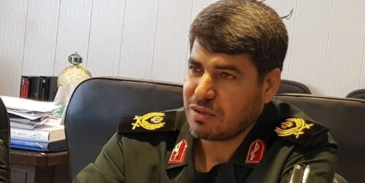 تقدیر فرمانده سپاه فتح از اقدامات ناحیه مقاومت بسیج شهرستان بویراحمد
