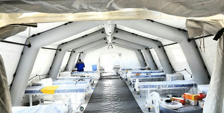 بیمارستان صحرایی «سپاه» بهزودی در بندرعباس آغاز بکار میکند+عکس