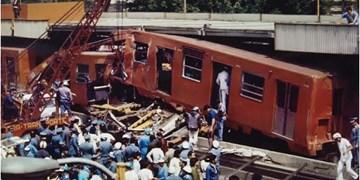 فیلم| دستکم یک کشته و دهها زخمی در اثر برخورد دو قطار در پایتخت مکزیک