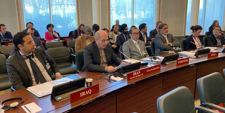 مخالفت ایران با تصمیم جدید شورای اجرایی سازمان منع سلاحهای شیمیایی درباره سوریه