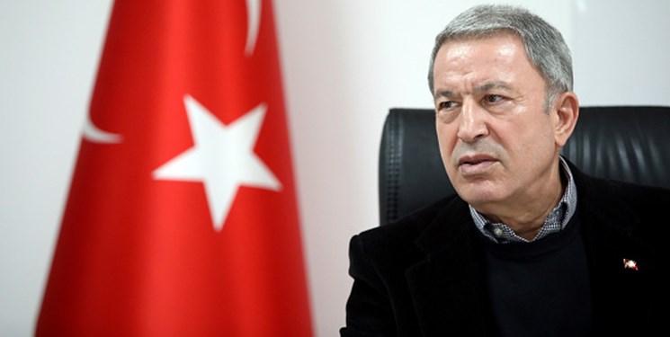 وزیر دفاع ترکیه: موافق گفتوگو با یونان هستیم