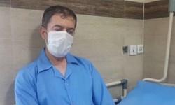 فیلم| خدمت پزشک مشهدی به بیماران کرونایی با وجود بیماری زمینهای