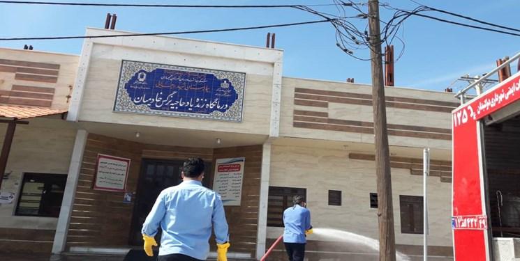 عزم جدی و بیوقفه شهرداری  برای مقابله با کرونا  در گچساران + تصاویر
