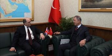 وزرای دفاع ترکیه و انگلیس درباره ادلب دیدار کردند