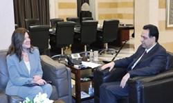 فشار سفیر آمریکا بر نخست وزیر لبنان برای تحریم حزب الله