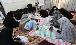 فیلم  اقدامات زنان بوشهری درشرایط جنگ بیولوژیک