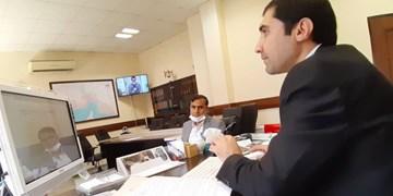 سامانه ارتباط مکانیزه دادگستری با ناجا در استان مرکزی افتتاح شد