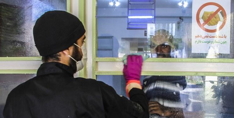 ضد عفونی مرکز توانبخشی بیرجند توسط طلاب و بسیجیان