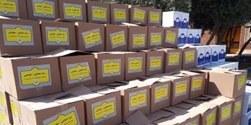توزیع بیش از ۱۶۰۰ بسته حمایتی در شهرری