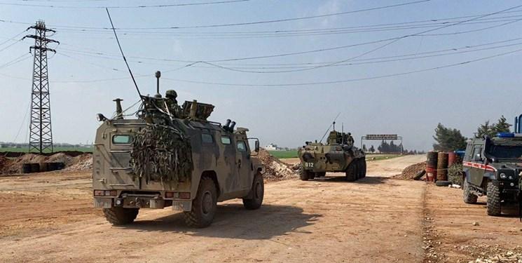 گشت زنی مشترک ترکیه و روسیه در بزرگراه حلب به لاذقیه
