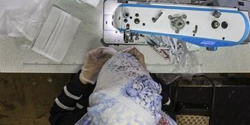 تولید ماسک بهداشتی در«کانون فرهنگی مالک اشتر»