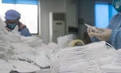 فیلم  راه اندازی کارگاه تولید ماسک توسط دانشجویان اراکی