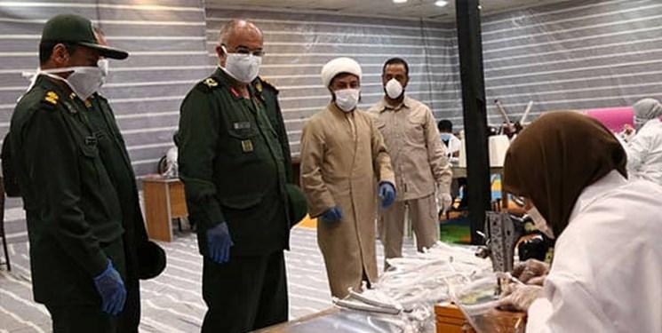 راه اندازی 32 کارگاه تولید ماسک توسط بسیجیان استان مرکزی