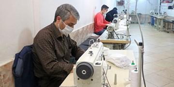 تولید روزانه 30 هزار ماسک با استفاده از مشاغل خانگی