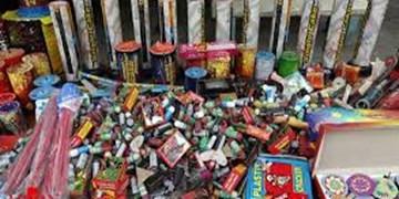 کشف بیش از 115 هزار عدد مواد محترقه در زنجان