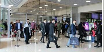 نصب دوربین حرارتی در ورودی ترمینال داخلی فرودگاه تبریز+ عکس